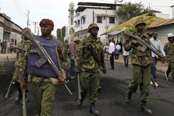 Kenya has suffered a series of attacks since it sent its troops to Somalia in October 2011 [AP]