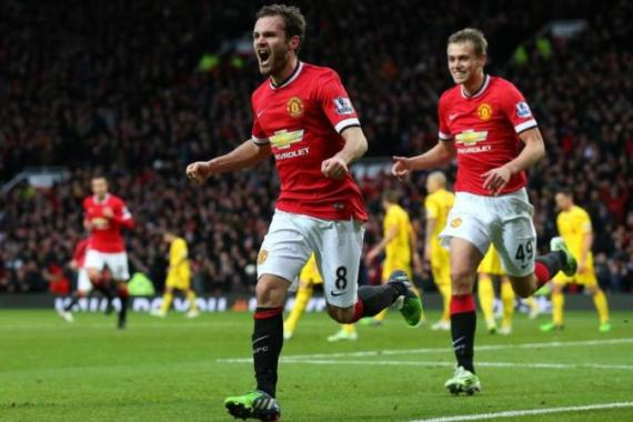 Juan Mata scored the second goal and provided the assist for the third [Getty Images]