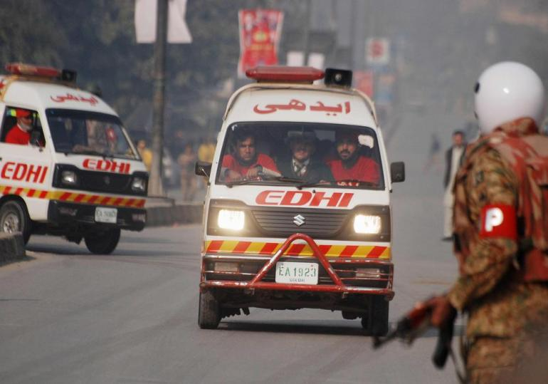 Ambulance and emergency services worked overtime to try and save the lives of children who were shot.
