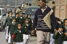 The end of the moratorium came at a meeting to discuss Pakistan's response to the Peshawar school attack [AP]