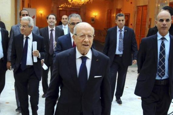 Presidential candidate Beji Caid Essebsi claims to follow in the footsteps of the late President Habib Bourguiba, writes Jebnoun [AP]