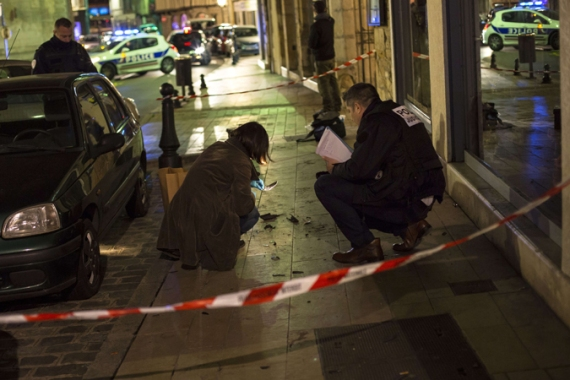 Sunday's car attack in the city of Dijon was the second violent incident in France in as many days [AFP]