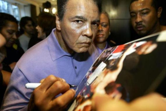 Ali was diagnosed with Parkinson's after he retired from boxing in 1981 [AFP]