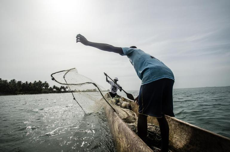 Instead, almost everyone on the islands relies on fishing to make a living.