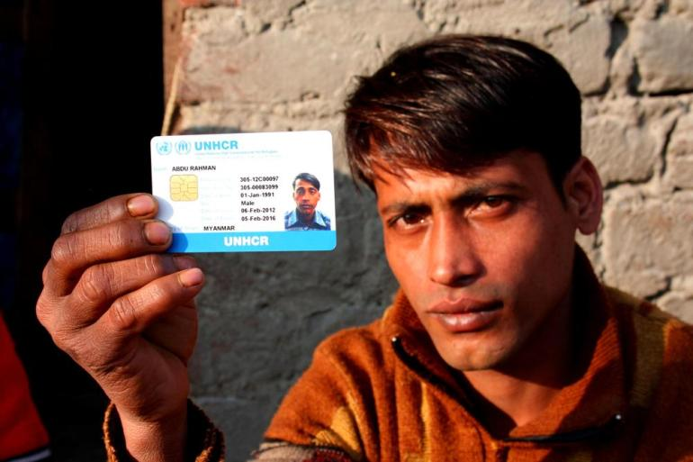 (***)It is not easy to get registered with UNHCR. It requires a number of meetings and visits to their office in New Delhi along with family members, and most of us don(***)t even have money for the journey,(***) says Abdu Rahman, 23, who stays in a tent with his wife and two children.