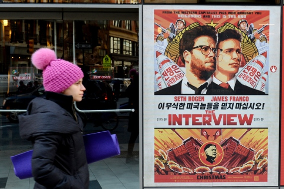 Sony pulled the film 'The Interview', which is quite a coup for whoever orchestrated the assault on the company, writes Rosenberg [EPA]