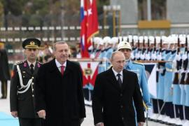 The Kremlin's uncrowned emperor rolled into Turkey's capital, writes Bechev [AFP/Getty Images]