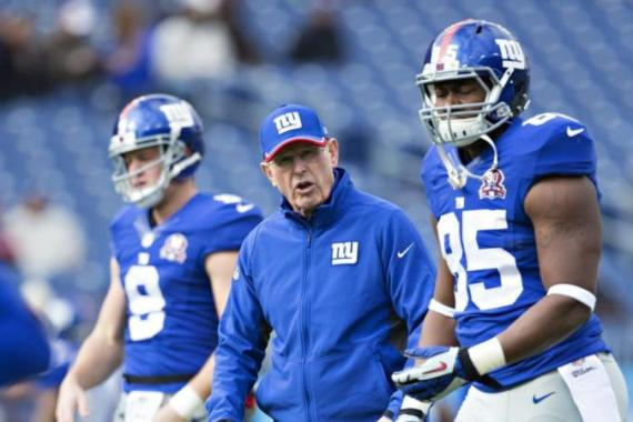 Coughlin led the Giants to Super Bowl championships in 2008 and 2011 [Getty Images]