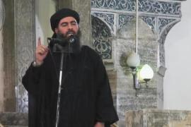 "Baghdadi's ISIL has seized wide areas of Iraq and Syria, declaring a ""caliphate"" over the territory it controls [AP]"