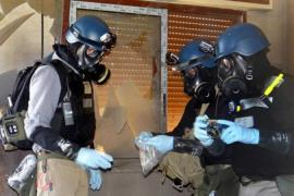 Report reaffirms Syria chemical weapons use