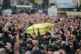 Hezbollah mourns fighters killed in attack