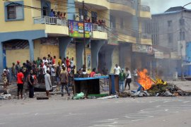 DR Congo rocked by anti-government protests