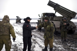 Russian President Putin called Ukraine's army a 'Nato foreign legion' [AP]