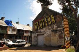 The inner-city suburb of Redfern is undergoing a rapid gentrification process. Hundreds of its original Aborigines inhabitants have already been forced to move to the outer suburbs.
