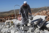 UN official James W Rawley urged Israel to stop demolishing Palestinian structures, writes White [Reuters]