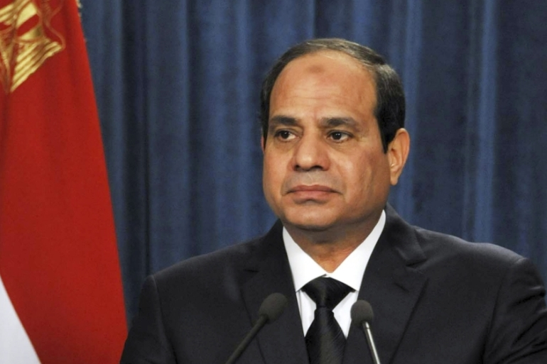 It is the first cabinet reshuffle since Sisi took office in June [AP]
