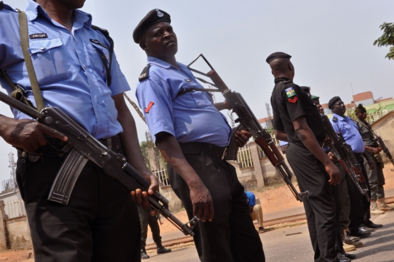 Security forces fired back at the attackers killing at least two of them, police said [File: Olamikan Gbemiga/AP]