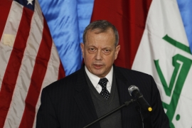 US General John Allen has said that much of the Iraqi army's equipment had been lost [Reuters]