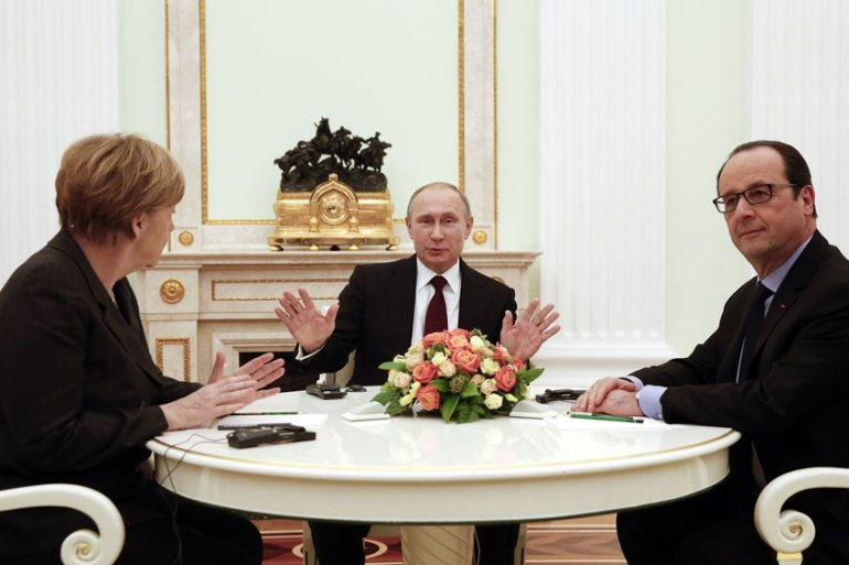 The Munich conference focused on the situation building in eastern Ukraine [Reuters]