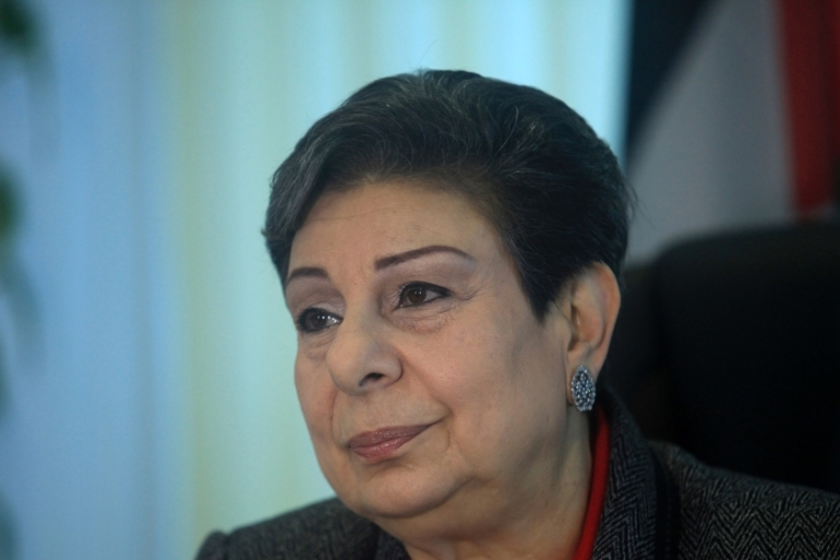 'We don't want a resolution which compromises on any rights guaranteed under international law,' Ashrawi says [Getty]