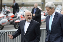 Kerry and Zarif are aiming to agree on the outlines of an agreement by the end of March [File - AP]