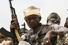 Chad, backed by its air force, has already sent troops many kilometres inside northeastern Nigeria [Reuters]