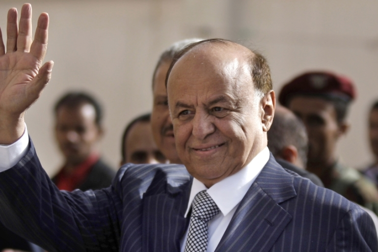 Hadi escaped from the capital, Sanaa, on Saturday after being under house arrest for a month [File: AP]