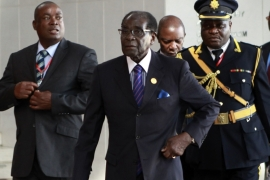 Mugabe was nearly the only viable candidate, writes Schneider
