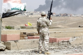 "Iraqi prime minister hailed the ""liberation of Tikrit"", congratulating the forces that took part in the battle [AP]"