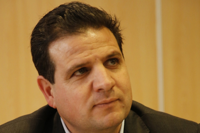 """The policies that the Israeli political establishment is pursuing [are] leading us all into a dead end,"" says Odeh [Ayman Odeh's campaign]"