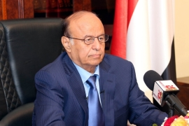 Despite international support, Hadi has been unable to restore security and stability to the country. [Getty]