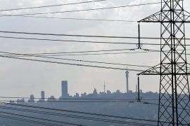 Rolling blackouts have become a frustrating part of everyday life for South Africans [AP]