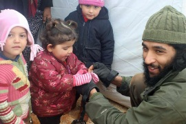 Aid worker Tauqir Sharif has repeatedly traveled to Syria to help those in need [Aid Convoy]