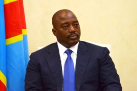 Kabila, in office since 2001, is constitutionally ineligible for next year's poll as he nears the end of a second elected term [File pic - AFP]