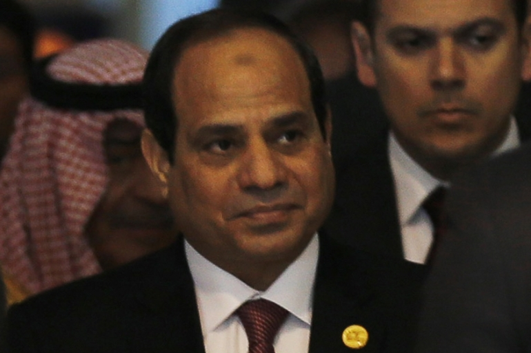 In remarks to African journalists, Sisi accused Al Jazeera reporters in Egypt of turning into activists [Reuters]