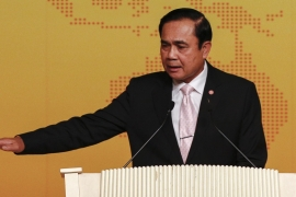 In February, the Thai leader said he had the power to shut down news outlets [Reuters]