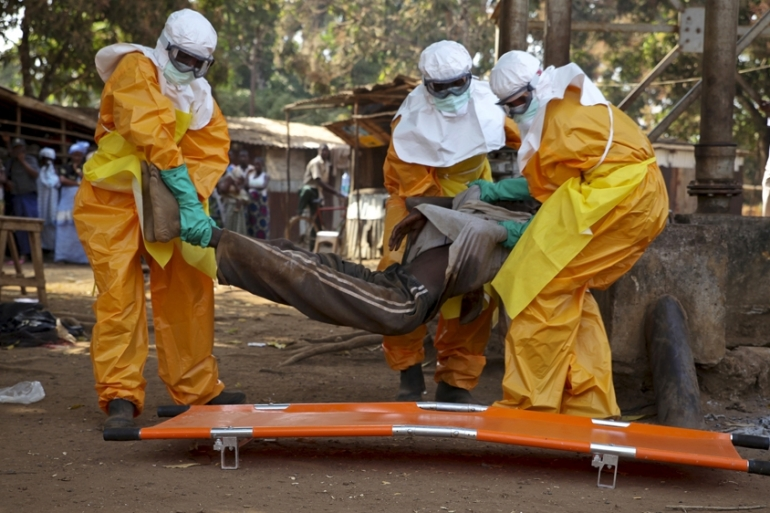 Ebola has claimed the lives of more than 10,000 people in West Africa, according to the World Health Organization [FILE - Reuters]