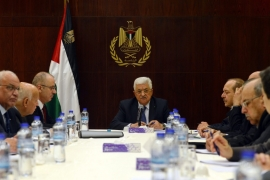 The Palestinian leadership does not seem to be entirely giving up the possibility of negotiations with the new Israeli government. [EPA]