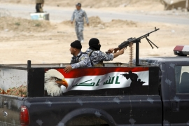Booby-traps halt Iraqi forces' advance on Tikrit