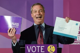 British Twitter takes aim at #UKIPManifesto