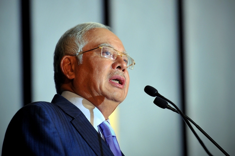 Prime Minister Najib Razak had ended detentions without trial in 2012 [Firdaus Latifi]
