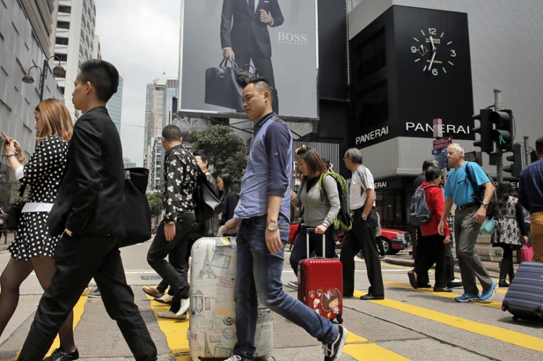 China's consumers have become an increasingly important part of the economy but they are now facing tougher times [File: Vincent Yu/AP]