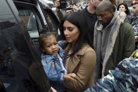 Kanye West (YE) and his reality TV star wife will reportedly spend a week in Uganda [File: Reuters]