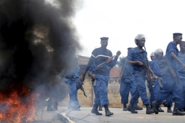 Protests persist against Burundi president