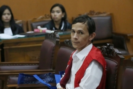 The trial of Indonesian teaching assistant Ferdinand Tjiong continues in the same court [AP]