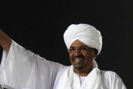 Bashir, who has ruled the country since coming to power in a military coup in 1989, won the vote with an overwhelming majority [EPA]