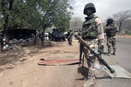 The military has launched an assault to eliminate the armed group holed up in the Sambisa Forest [AP]