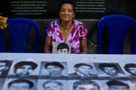 Salvadorans continue seeking justice for the victims the civil war [Getty Images]