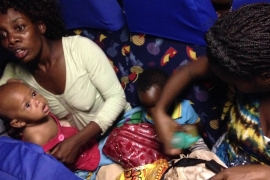 Displaced migrants fear transfer from S Africa camp