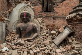 Fear of aftershocks has driven residents of Kathmandu to camp outdoors [Reuters]